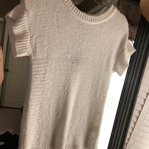 NWT Cable & Gauge White Knit Shirt
